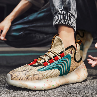 Marbled Flex Shoes