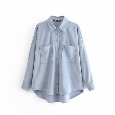 Oversized Button-Up Shirt