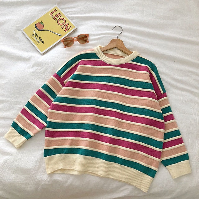 Striped Vintage Sweater