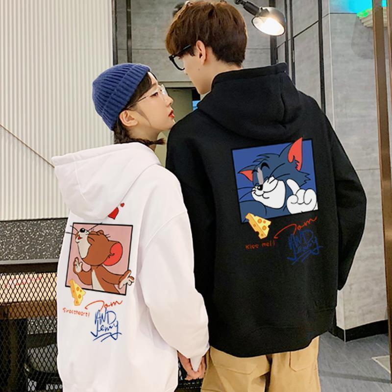 Tom and Jerry Couple Hoodies
