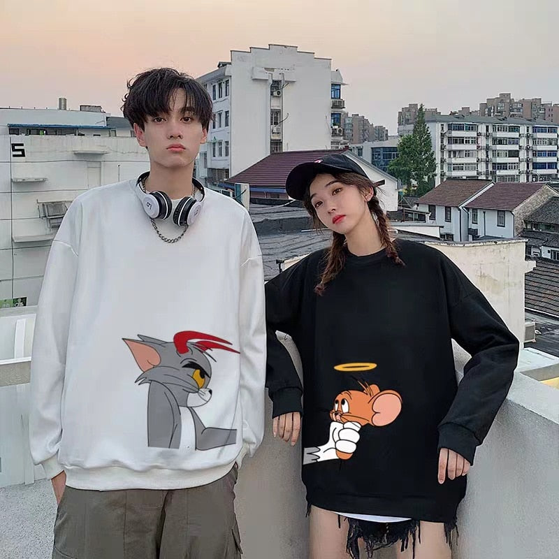 Tom and Jerry Couple Sweaters