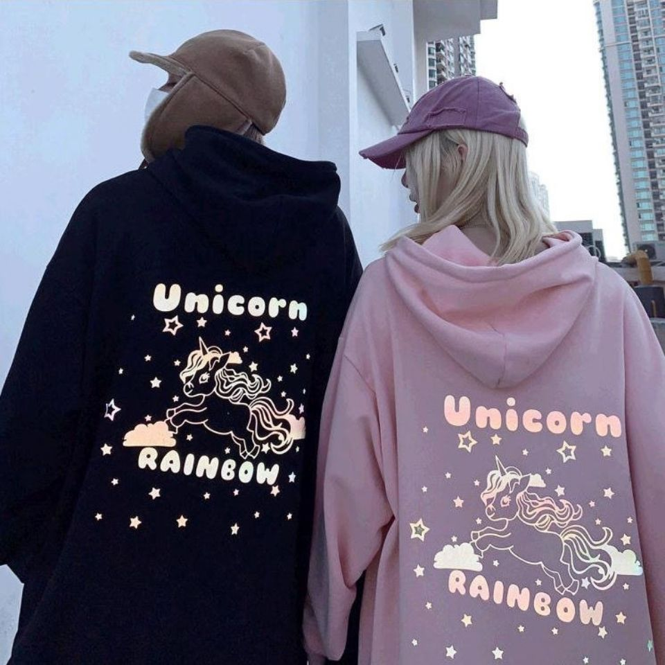 Unicorn Couple Hoodies