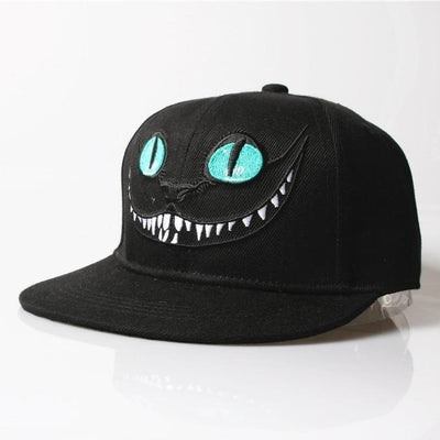 'Cheshire' Snapback Cap Left Side View