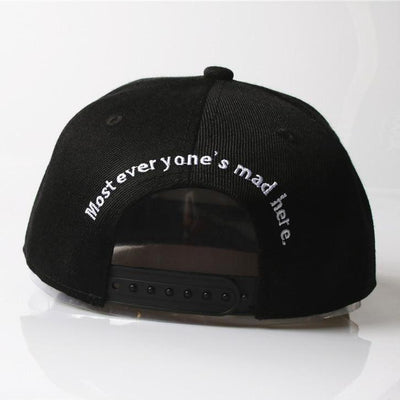 'Cheshire' Snapback Cap Back View
