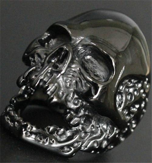 Black 'Death Skull' Ring