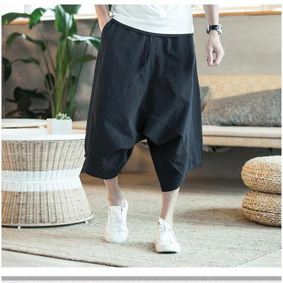 'Manaka' Harem Pants Black