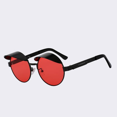 Black/Red Izzy Sunglasses
