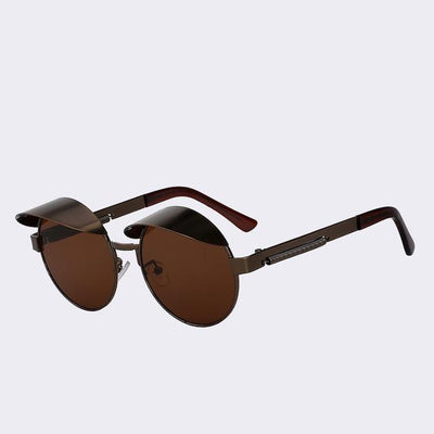 Brass/Brown Izzy Sunglasses