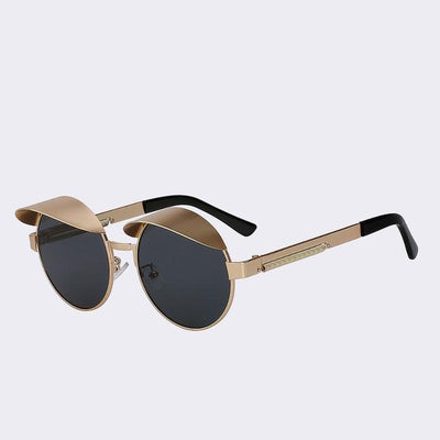 Black/Gold Izzy Sunglasses