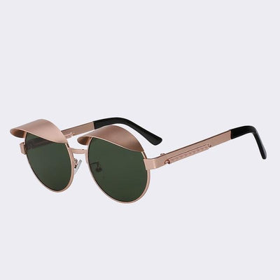 Gold/Green Izzy Sunglasses