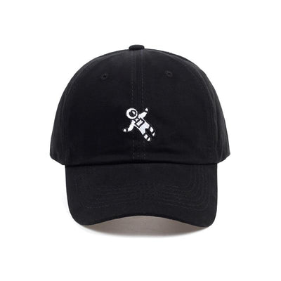 Black 'Gravity' Cap