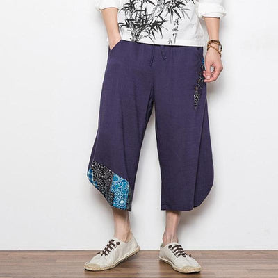 Navy Blue 'Reo' Harem Pants