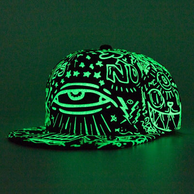 Style 1 'Glow Impact' Snapback Cap With Different Effect