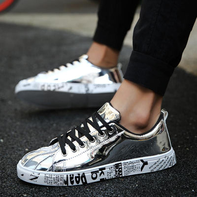 'Midas Touch' Sneakers Silver