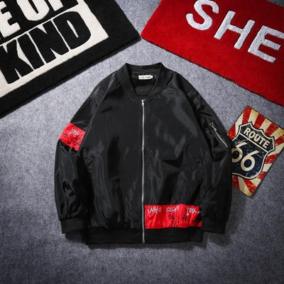 'Rising Jester' Bomber Jacket Full View