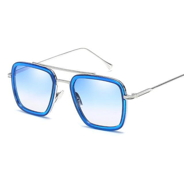 C5 Iron Square Sunglasses