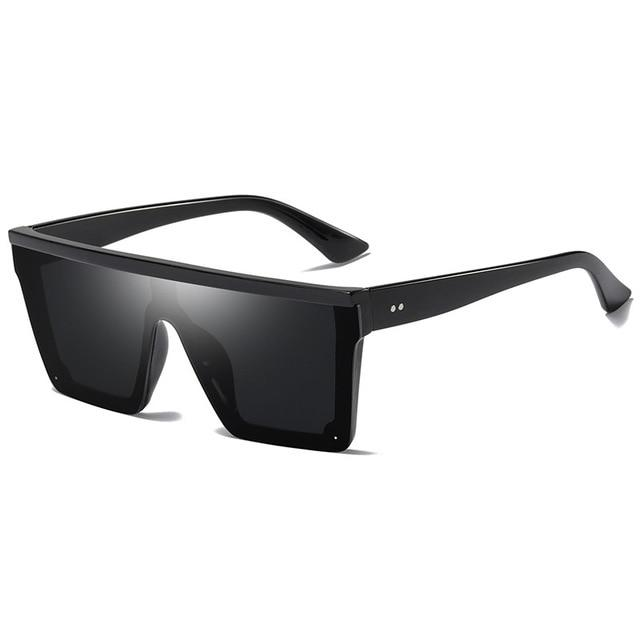 'Zach Rimless' Sunglasses Black