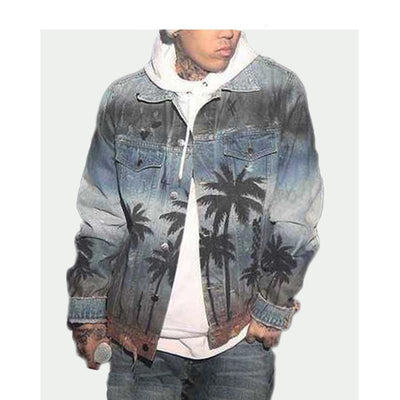 """HAWAII"" DENIM JACKET FULL-VIEW"