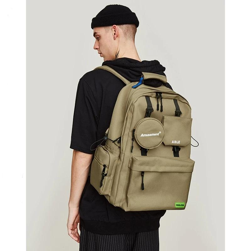 Khaki ABLE Backpack