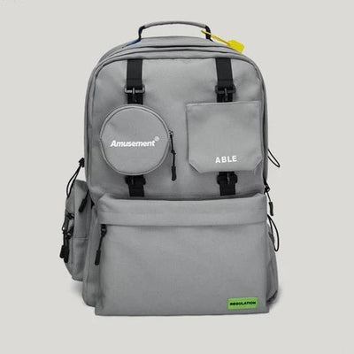 Gray ABLE Backpack
