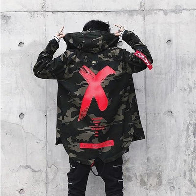 'X' Jacket Red