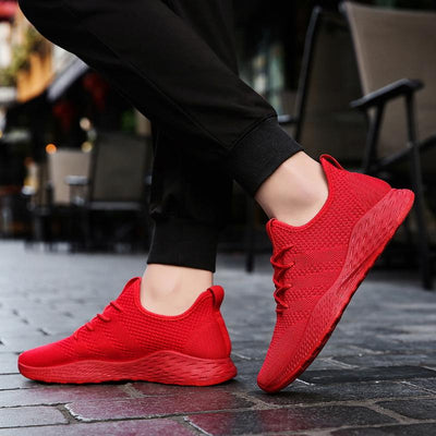 'Wallo' Sneakers Red View