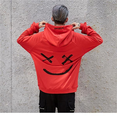 Red 'Day Dreamer' Hoodie  Back View