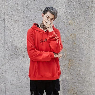 Red 'Day Dreamer' Hoodie