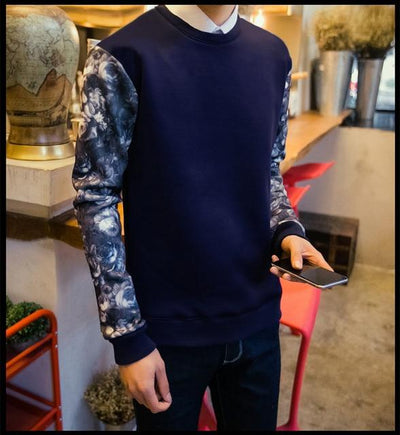 Navy Blue Kaigu Sweater Full