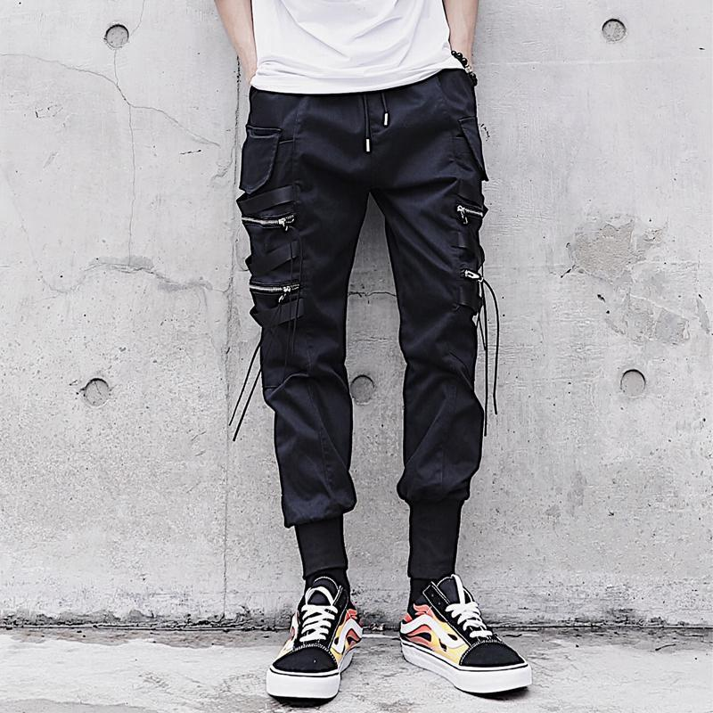 'Blackout' Pants Front View