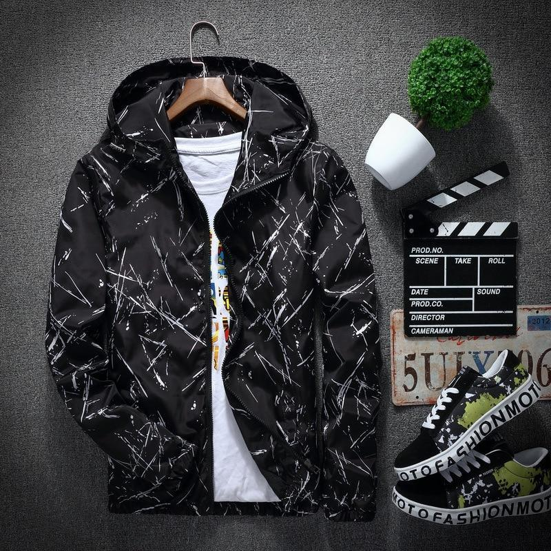 Black 'Cryos' Windbreaker