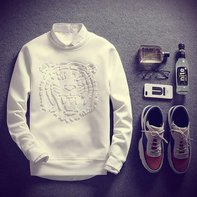 White 'Tigerpact' Sweatshirt
