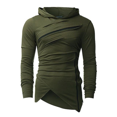 Army Green 'THE KLAW' Hoodie Front View