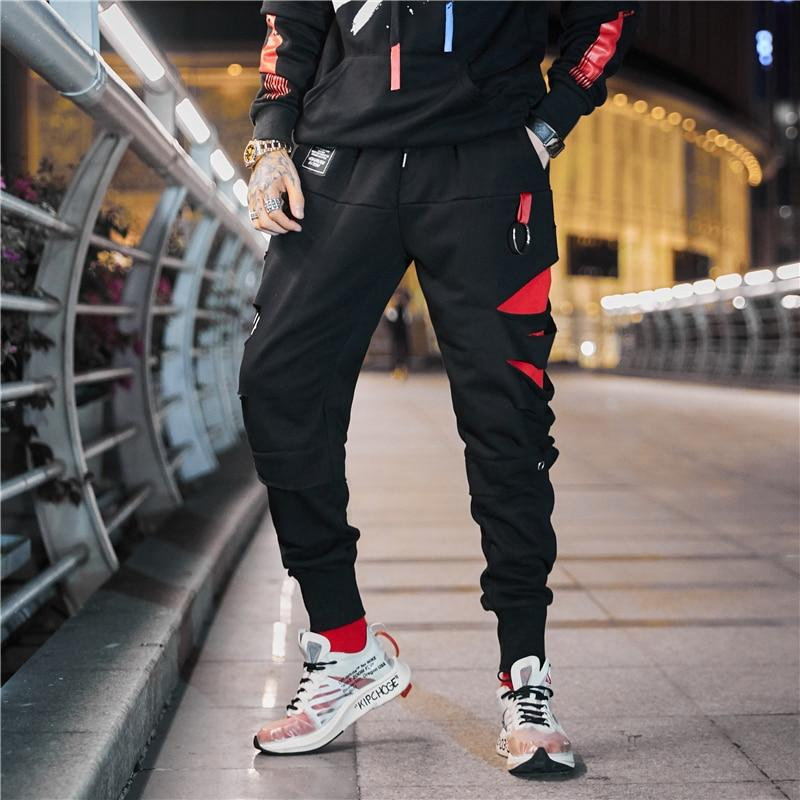 Black 'Blood Moon' JOGGERS