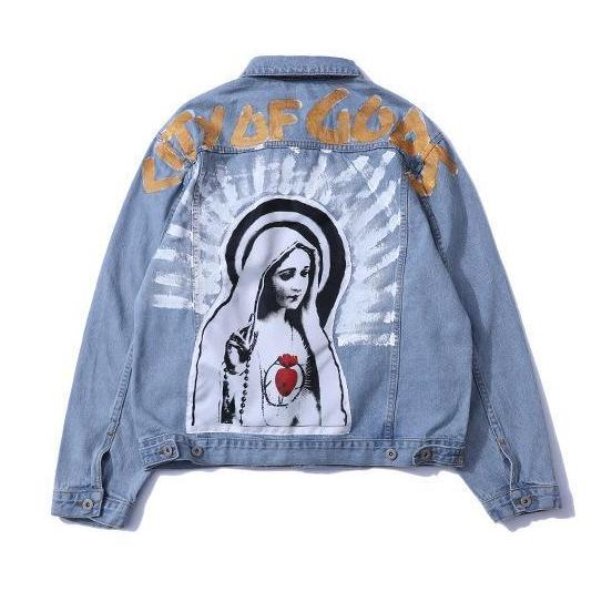 'Mother Mary Upsoar' Denim Jacket