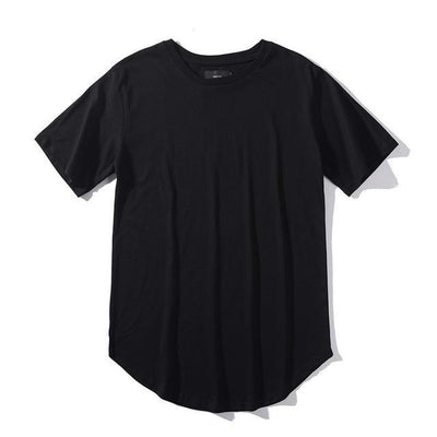 'Plain Scoop' Black T-shirt