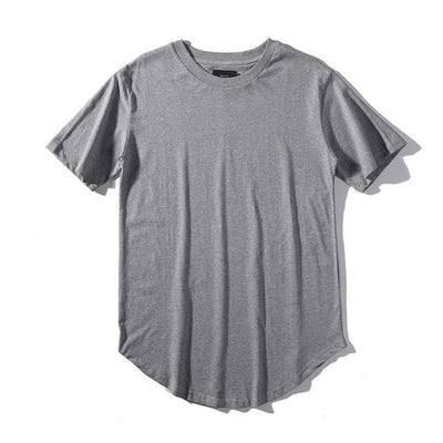 'Plain Scoop' Gray T-shirt