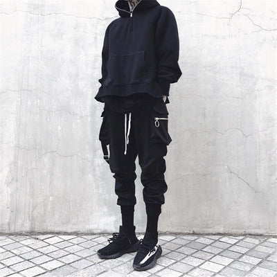 Black 'Super Skinny' Joggers