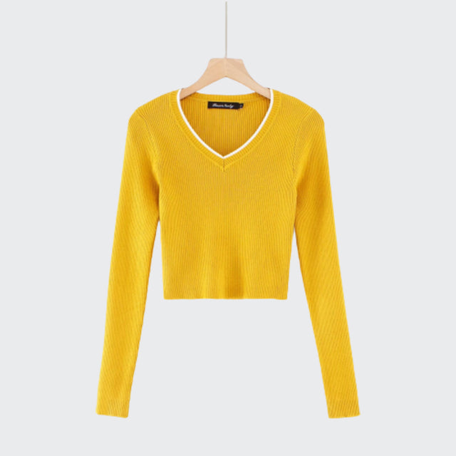 """Sizzle Proof"" Cropped Sweater"