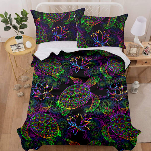 Maui Turtle Bedding Set