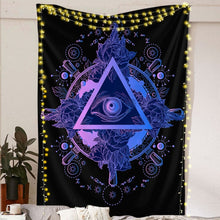 Load image into Gallery viewer, All Seeing Eye Tapestry