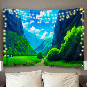 Beautiful Valley Tapestry