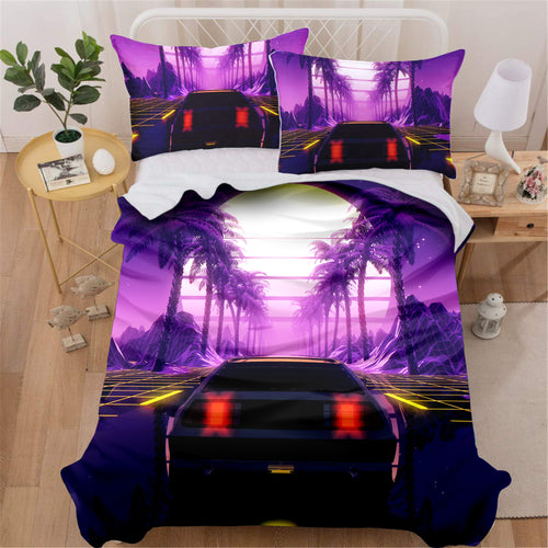 Tropical Outrun Bedding Set