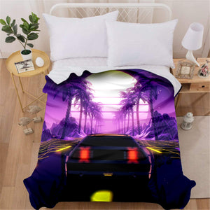Tropical Outrun Blanket