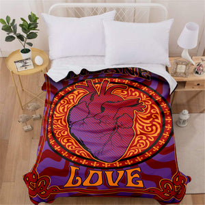 Heart of Love Blanket