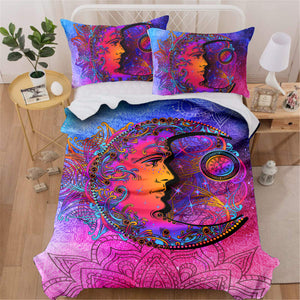 Peaceful Moon Bedding Set