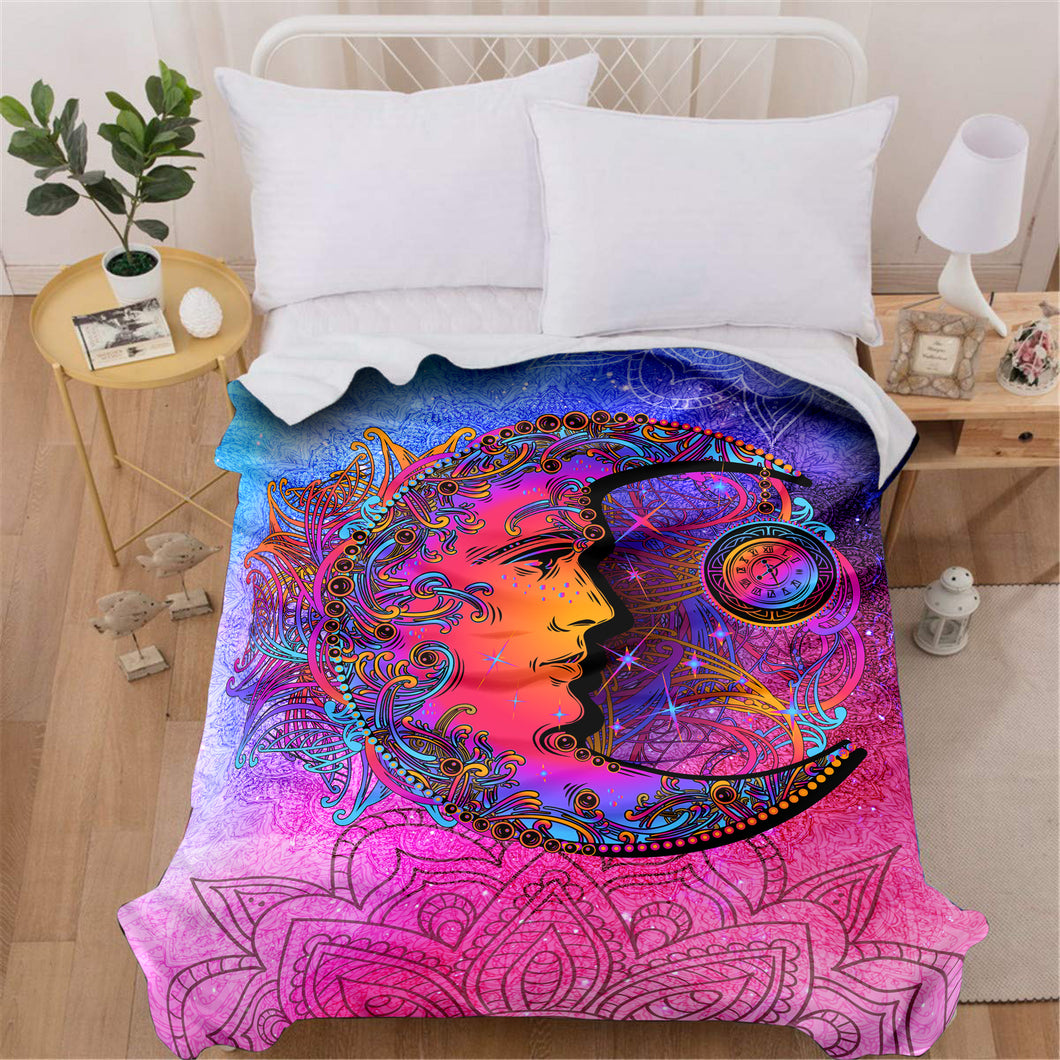 Peaceful Moon Blanket