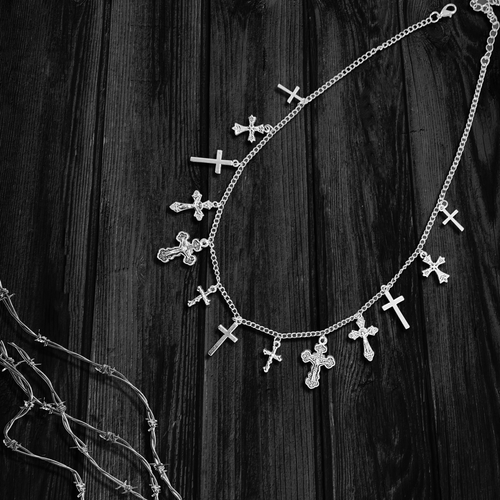 Crossed Necklace