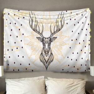 Deer Head Tapestry