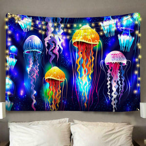 Jellyfish Dreams Tapestry